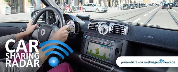 carsharing radar hoher ekelfaktor beim autofahren mit carsharing autos mietwagen. Black Bedroom Furniture Sets. Home Design Ideas