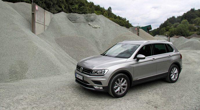 VW Tiguan 2016-Testfahrt und Erfahrungsbericht und des Monats Juli 2016 von TLLmeister in Bild und Schrift