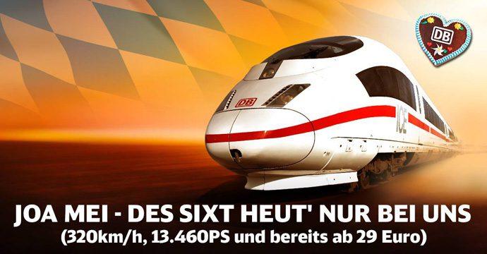 Deutsche Bahn nimmt Sixt aufs Korn